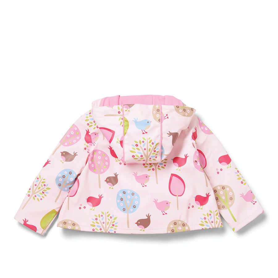 Penny Scallan Raincoat - Chirpy Bird-Out And About - Raincoat & Umbrella-Penny Scallan | Baby Little Planet