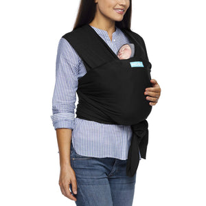 Moby Evolution Wrap Black Baby Little Planet