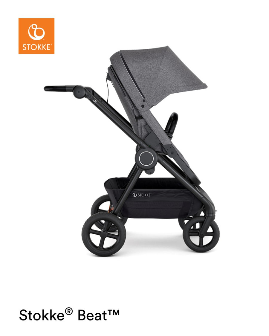 Stokke Beat-Prams Strollers - 4 Wheel Prams-Baby Little Planet Hoppers Crossing
