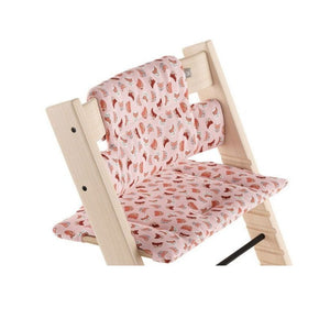 Stokke Tripp Trapp Cushion, Organic Cotton (Ship by Mid June)-Feeding - Highchairs-Baby Little Planet Hoppers Crossing