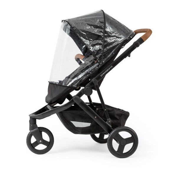 Edwards & Co Oscar Mx Rain Cover-Prams Strollers - Weather Covers-Baby Little Planet