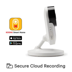KODAK CHERISH C120 SMART BABY CAMERA-House Safety - Baby Monitors-Kodak | Baby Little Planet