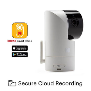 KODAK CHERISH C525 Smart Video Baby Monitor-House Safety - Baby Monitors-Kodak | Baby Little Planet