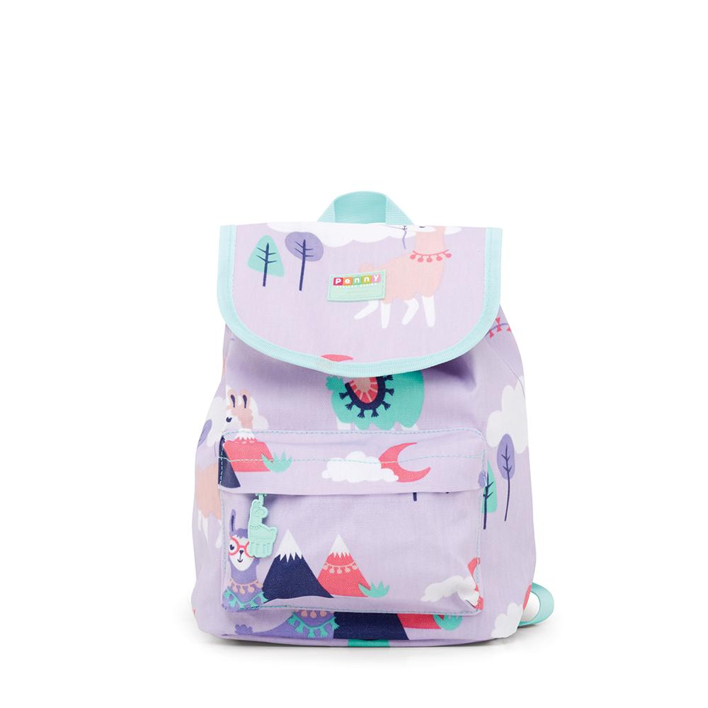 BabyLittlePlanet Penny Scallan Top Loader Backpack Loopy Llama