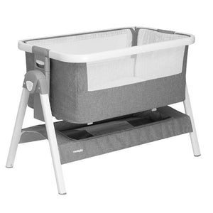 Neobaby Lunah Bedside Crib/Bassinet Grey-il Tutto-Baby Little Planet