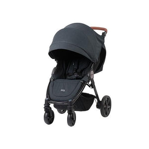 Steelcraft Agile Elite Pram, Black Linen
