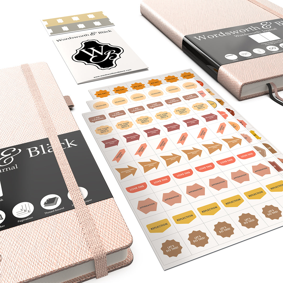 Pro Dotted Journal – Rosegold