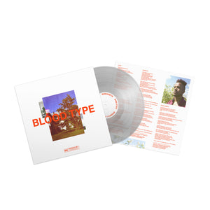 "Blood Type 12"" Vinyl (Ultra Clear Limited Edition) (pre-order)"