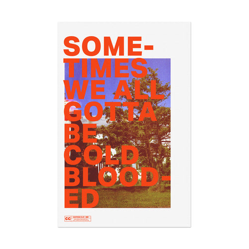 Blood Type Poster (Limited Edition)