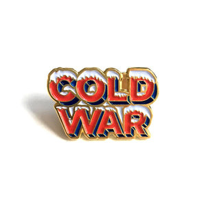 """Cold War"" Enamel Pin"