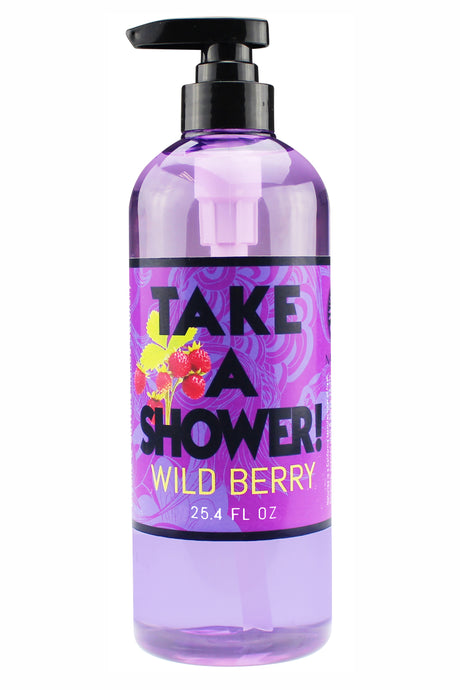 BODY WASH. 25.4oz  - Take A Shower - Wild Berry