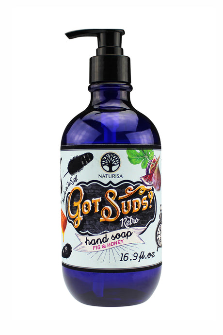 GOT SUDS RETRO HAND SOAP. 16.9oz - Fig & Honey