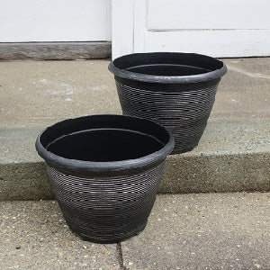 Helix Ribbed Pot x 2+1 free