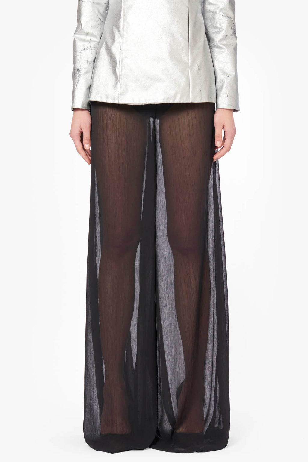 Transparent Wide Pants
