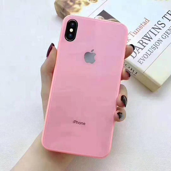 All-inclusive Anti-Drop Primary  Color iPhone Original Material Phone Case for iPhone X /XS/XS MAX/XR