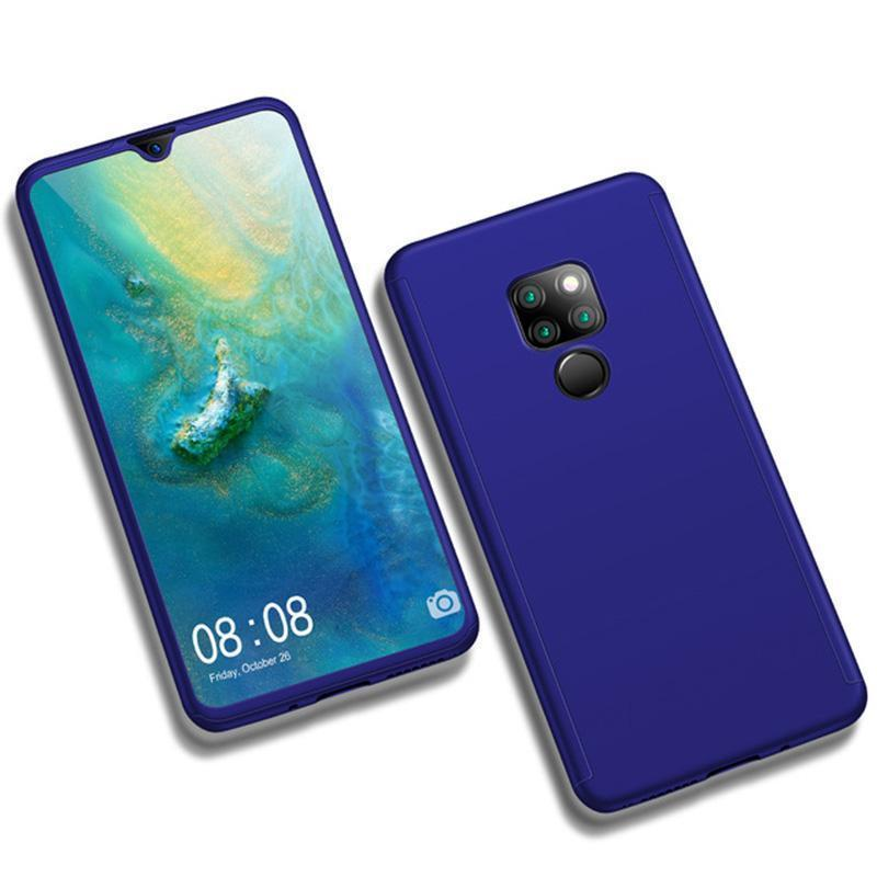 100% authentic 8bf15 49812 Case For HUAWEI Mate 20 ProLuxury Hard PC 360 Full Cover With Surface soft  film Protective Back Cover for HUAWEI Mate 20/Mate 20 Pro