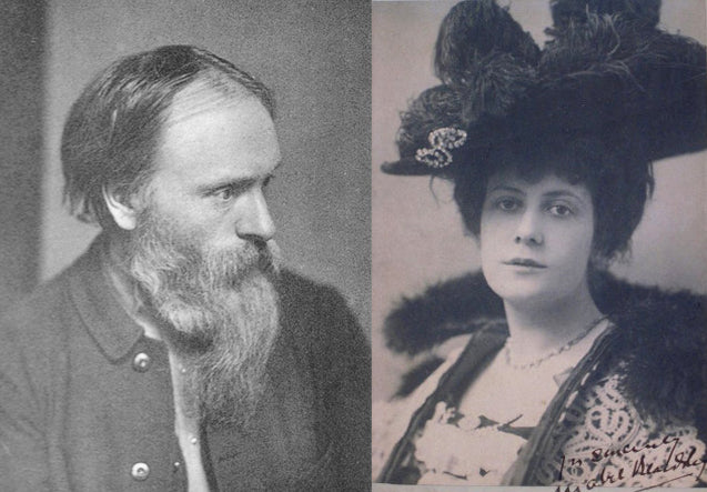 Mabel Beardsley and Burne-Jones