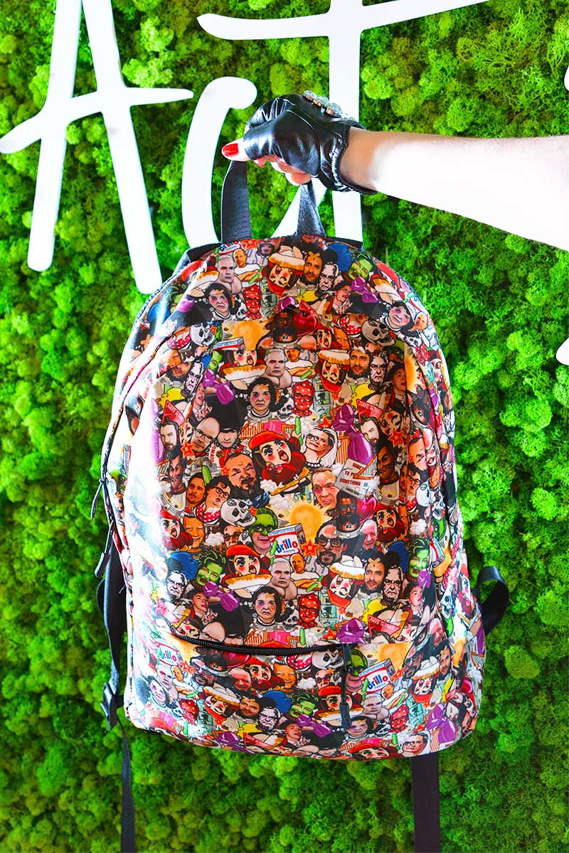 Art World Game Backpack