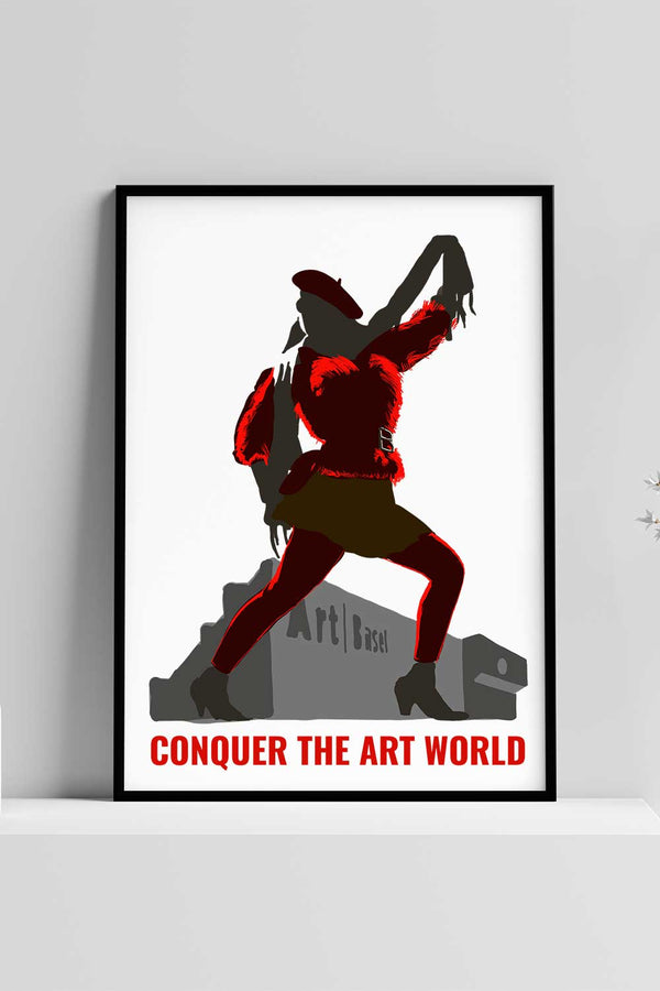 Art World Slogan Poster