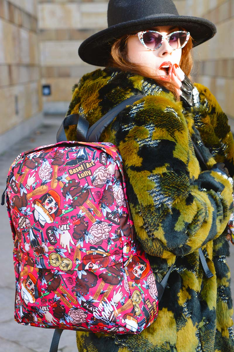 Basel Art Lolly Backpack