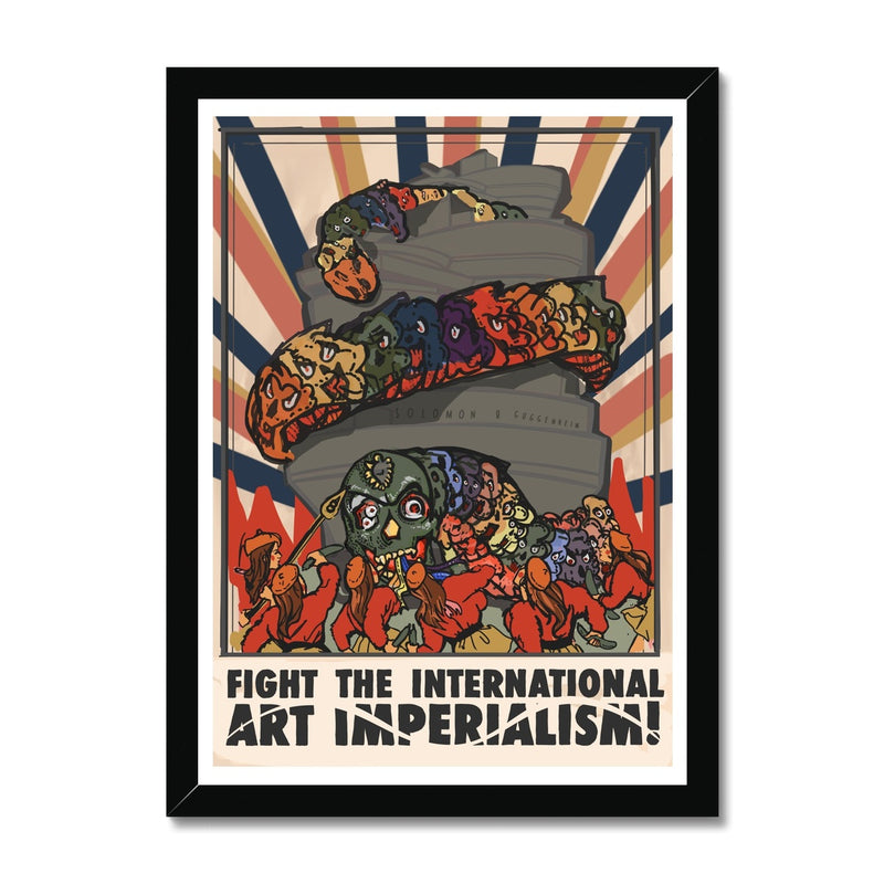 Art Imperialism Framed Print
