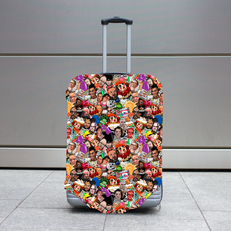 Art World Game Luggage Case