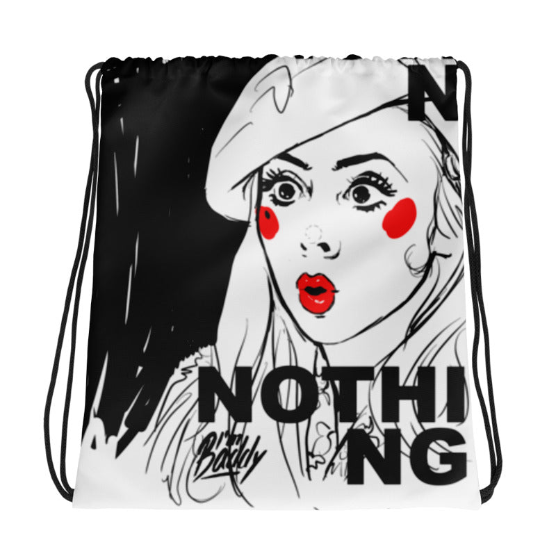 Nothing drawstring bag