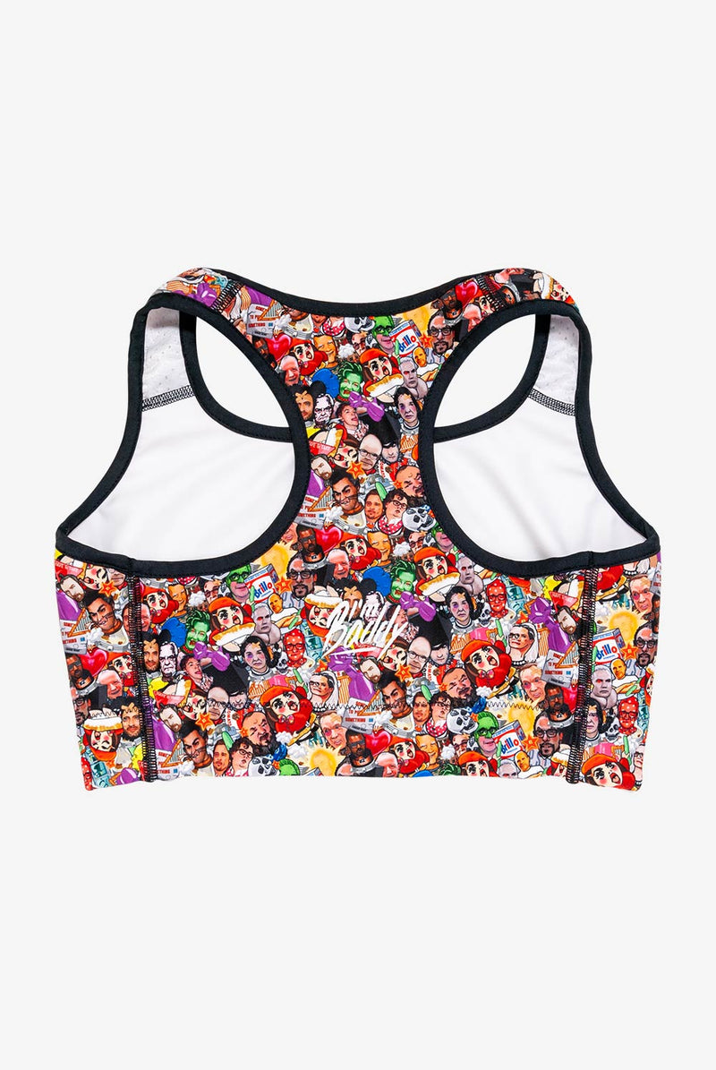 Art World Game Sports bra