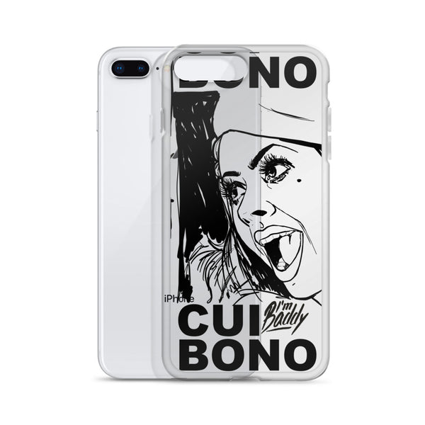 Cui Bono iPhone Case