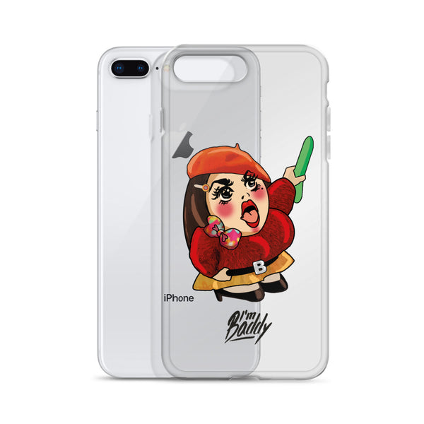I'm Baddy iPhone Case