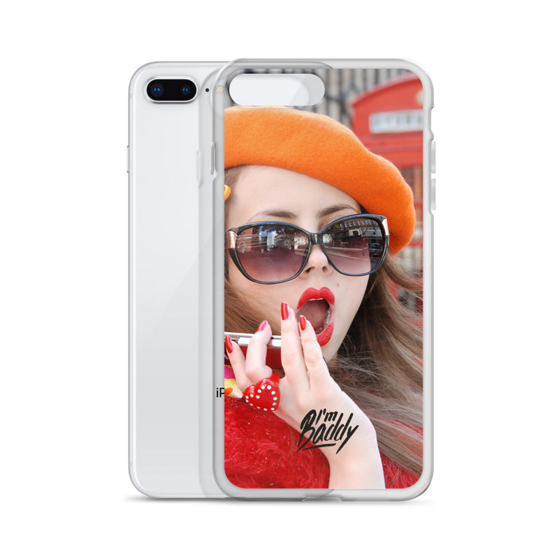 Baddy Was In London iPhone Case