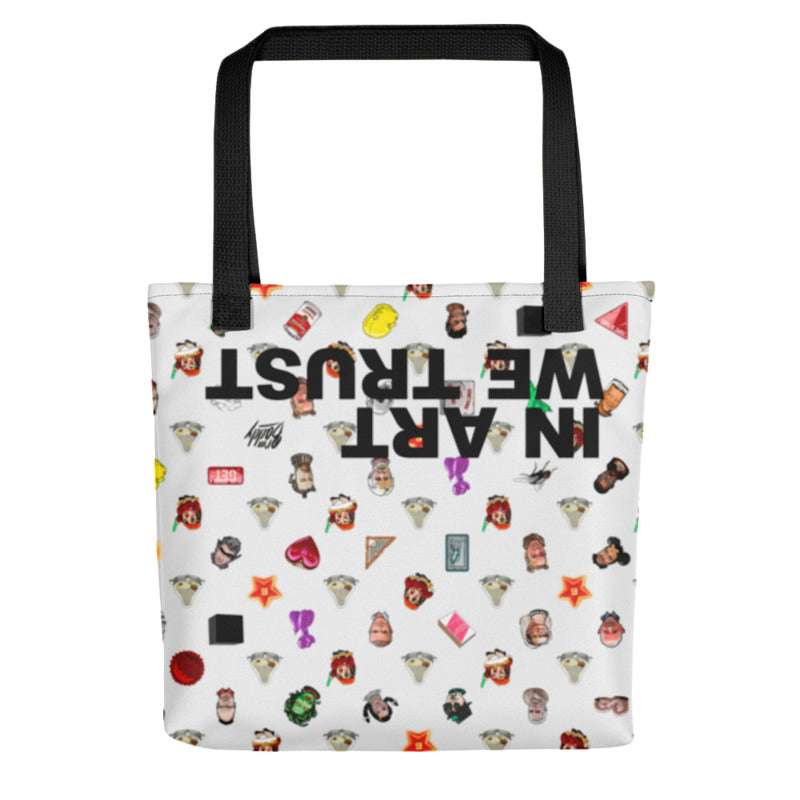 In Art We Trust Cartel Tote Bag