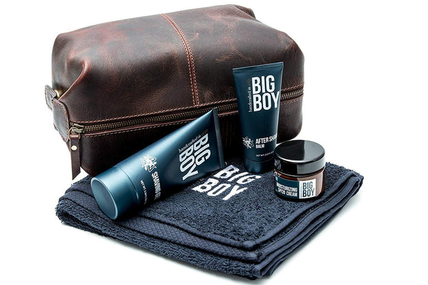 BIG BOY Shaving Gel 100ml / 3.38 floz - Enriched with Aloe Vera - Made in Italy