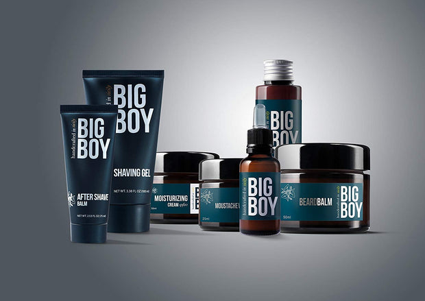 BIG BOY Beard Wash 100 ml - With Natural Argan Oil - Made in Italy