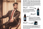 BIG BOY Beard Wash 100 ml - With Natural Argan Oil - Made in Italy - Big Boy USA