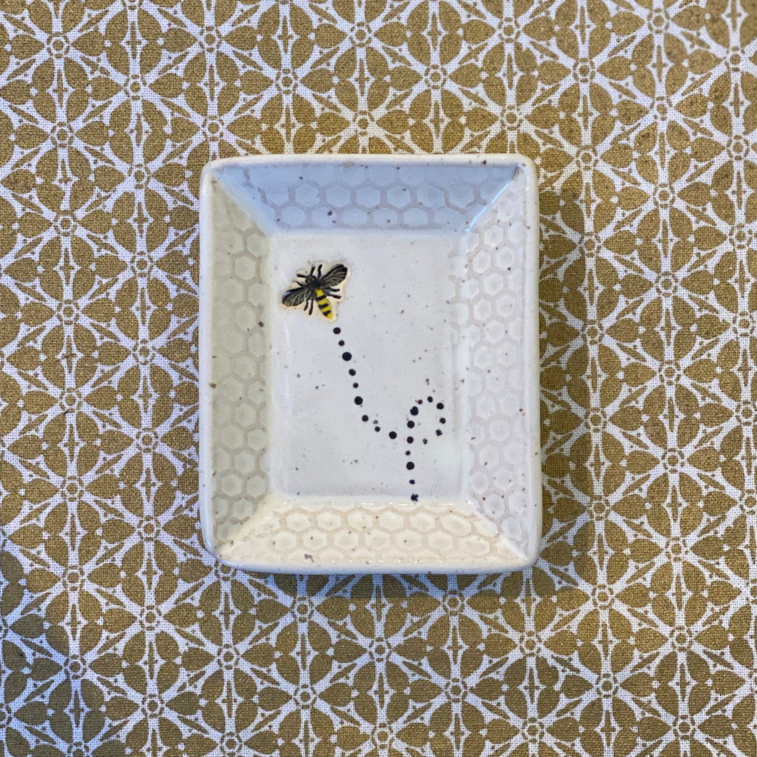 Small Rectangular Dish from the Saved the Bees Collection (Temporarily Sold Out)