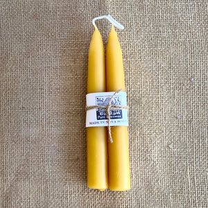 Beeswax Taper Candle