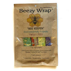 "The ""BEE KEEPER"" Twist Ties"