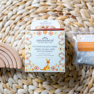 Postpartum Bath Herbs by Anointment