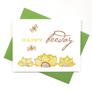 Happy Bee-Day Card