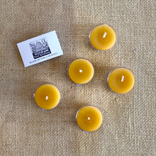 Beeswax Tealight Candle