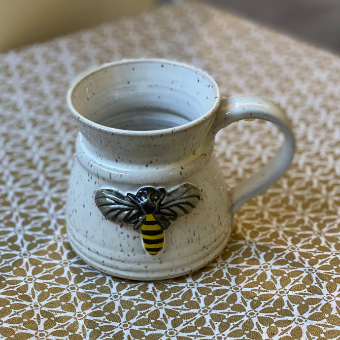 Bee Mug from Kissed by Fire Pottery