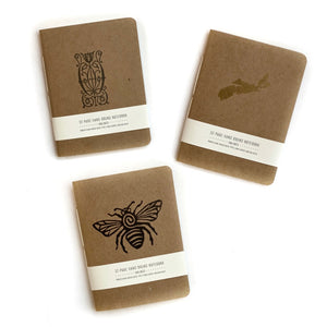 Pocket Notebook by Arquoise Design