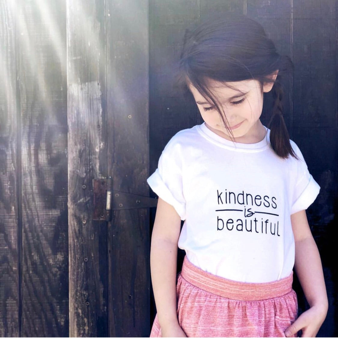 """Kindness is Beautiful"" Onesie"