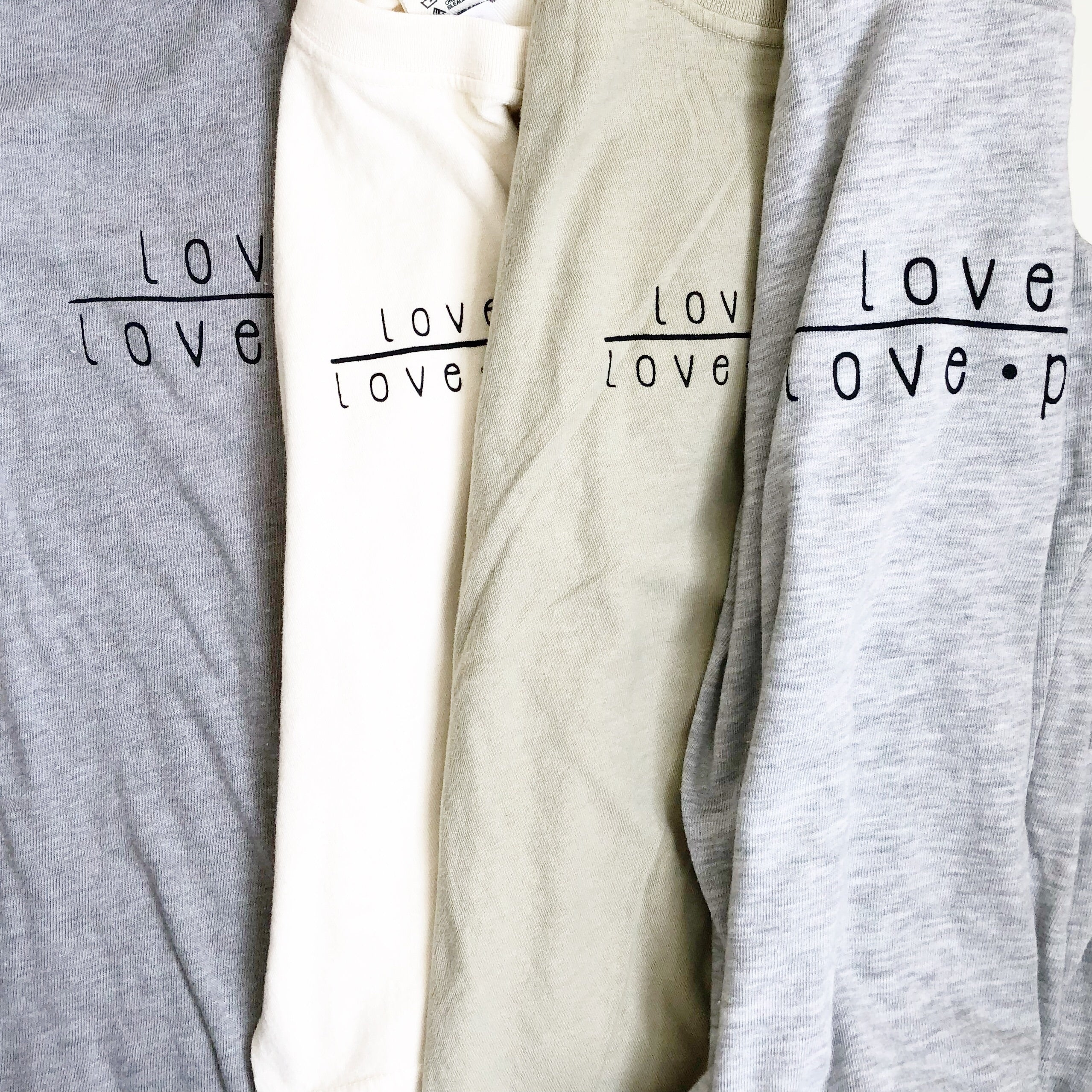 """Love God/Love People"" Adult Tee"