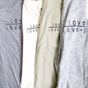 "SALE ""Love God/Love People"" Adult Tee"