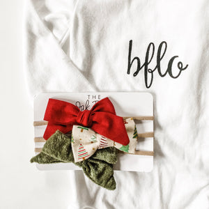Holiday Bow Set Two 2019