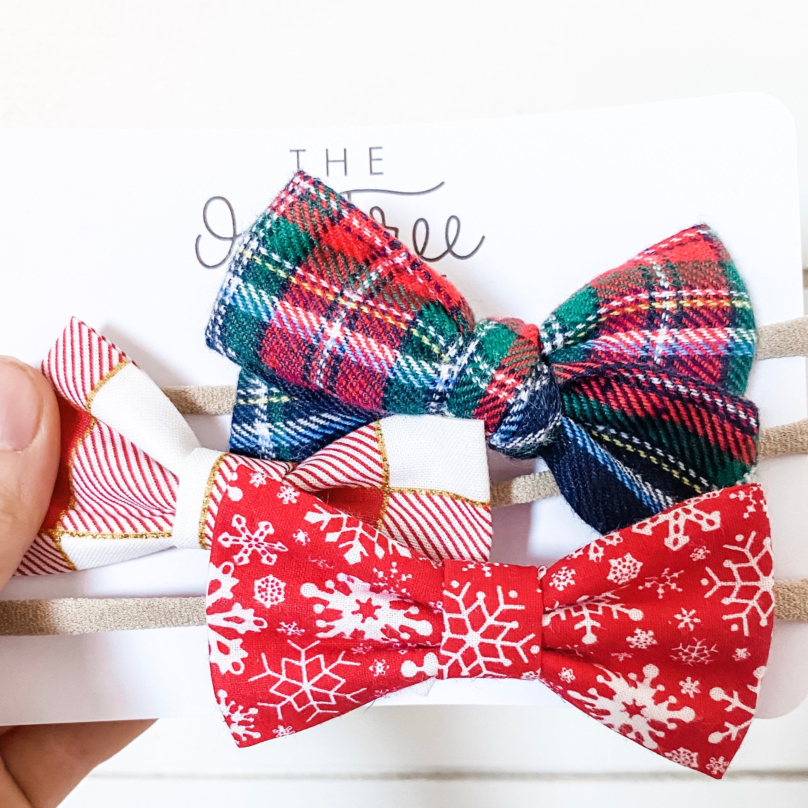 Holiday Bow Set Three 2019