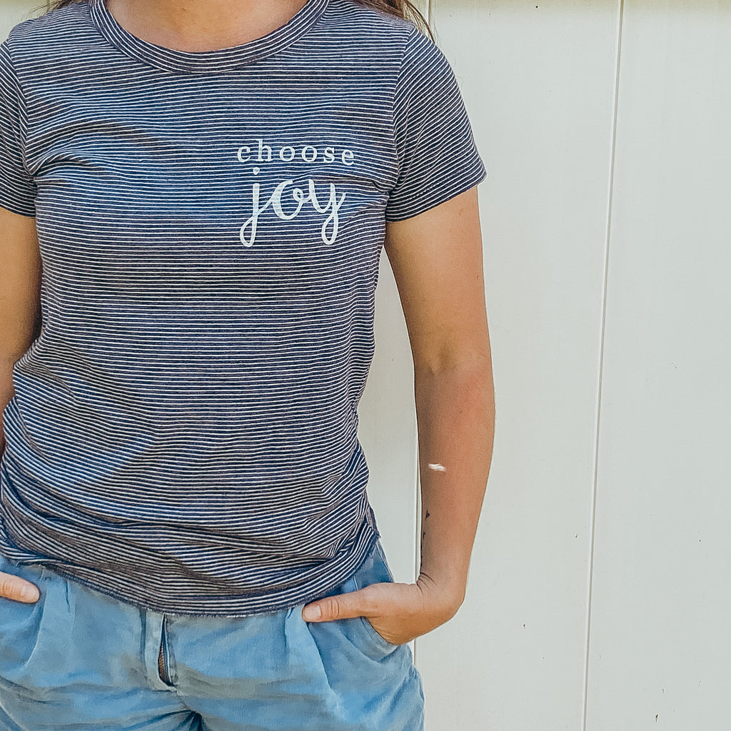 """Choose Joy"" Adult Tee"