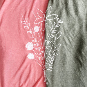"""Bloom"" Adult Tank"